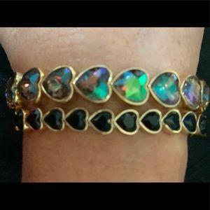 Inc heart bracelet set